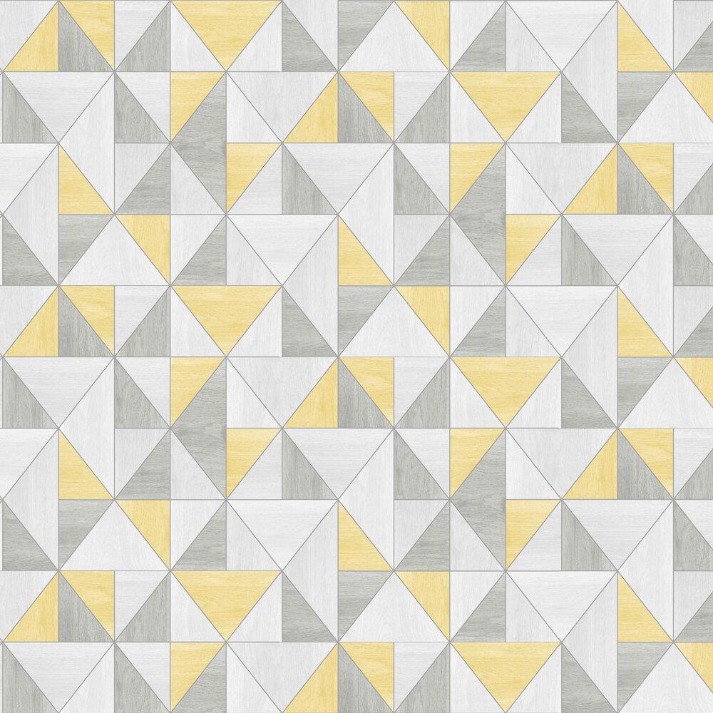 Albany Apex Wood Grain Yellow Wallpaper - Product code: FD42223