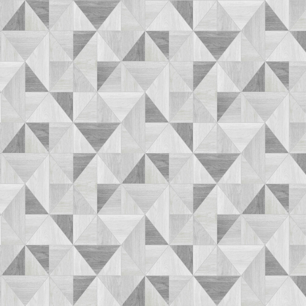 Apex Wood Grain Wallpaper - Grey - by Albany