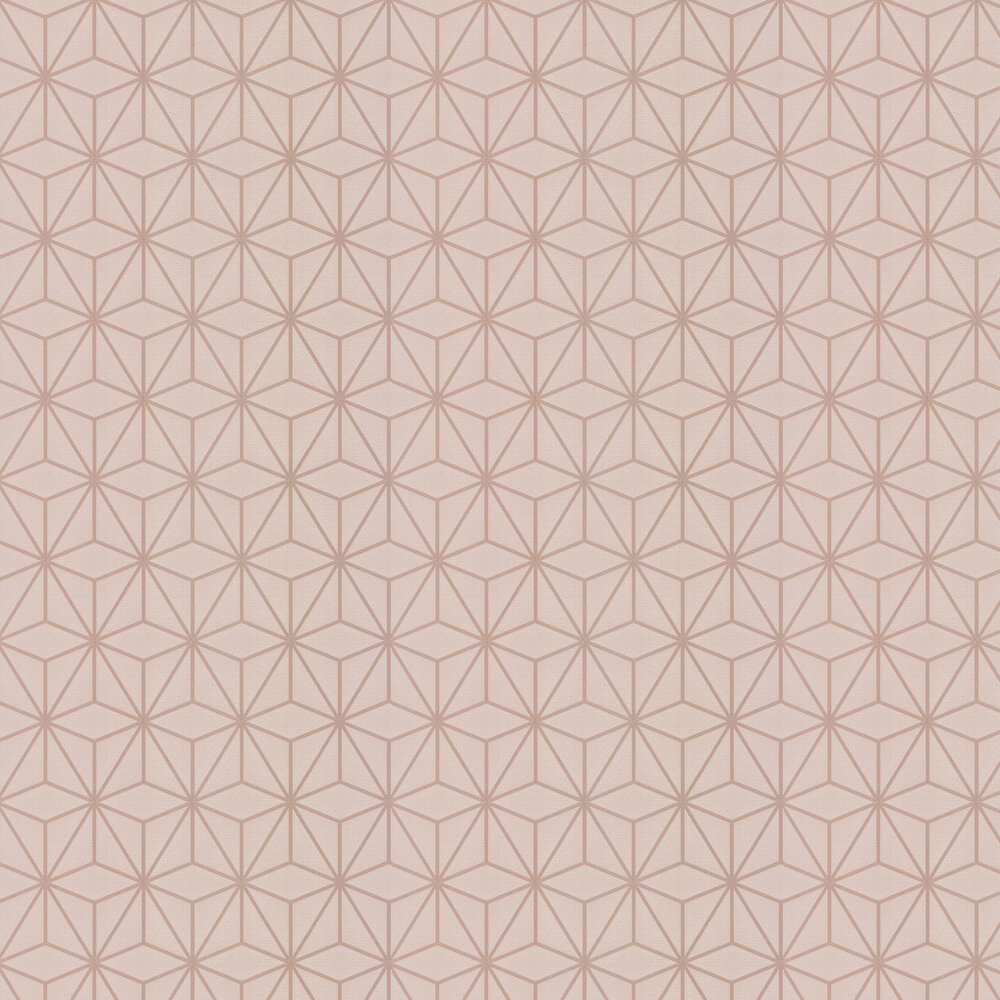 Pulse Star Geo Wallpaper - Taupe  - by Albany