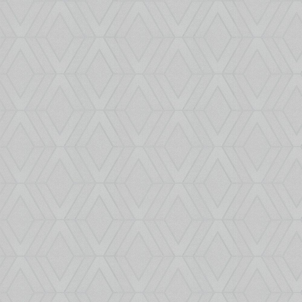 Albany Pulse Diamond Silver  Wallpaper - Product code: FD42340