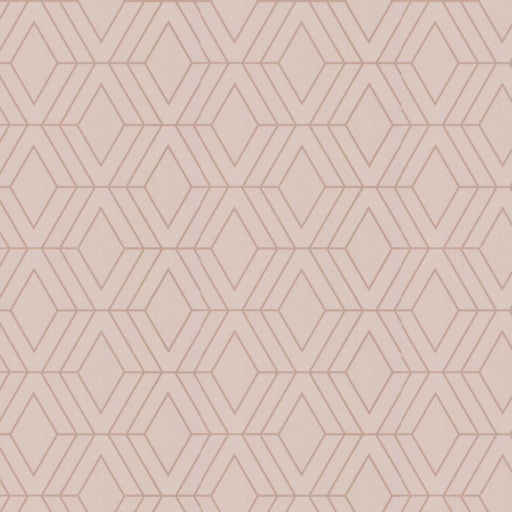 Pulse Diamond Wallpaper - Taupe - by Albany