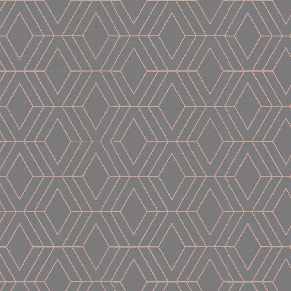 Albany Pulse Diamond Charcoal Wallpaper - Product code: FD42352