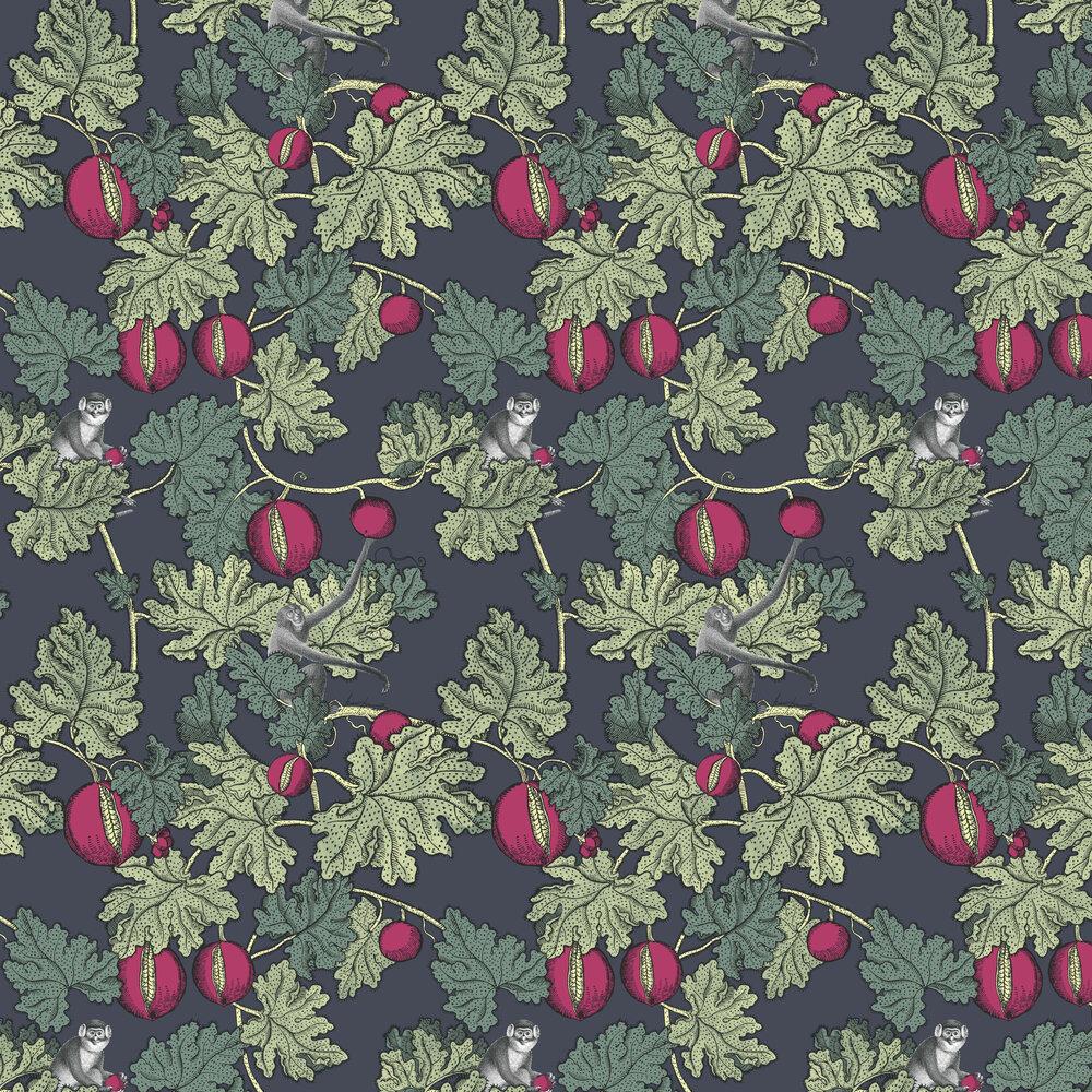 Frutto Proibito Wallpaper - Charcoal - by Cole & Son