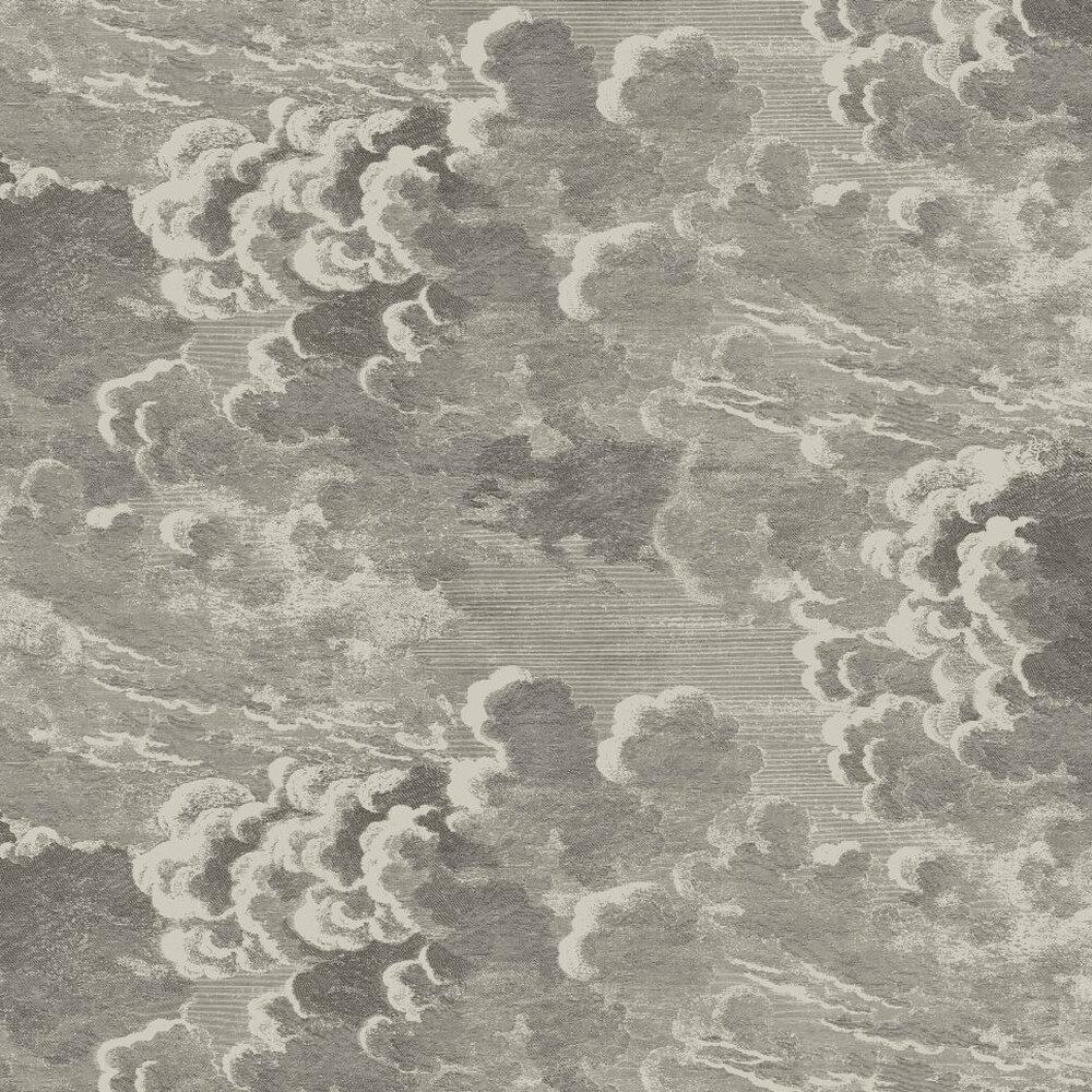 Nuvolette Wallpaper - Dark Grey - by Cole & Son