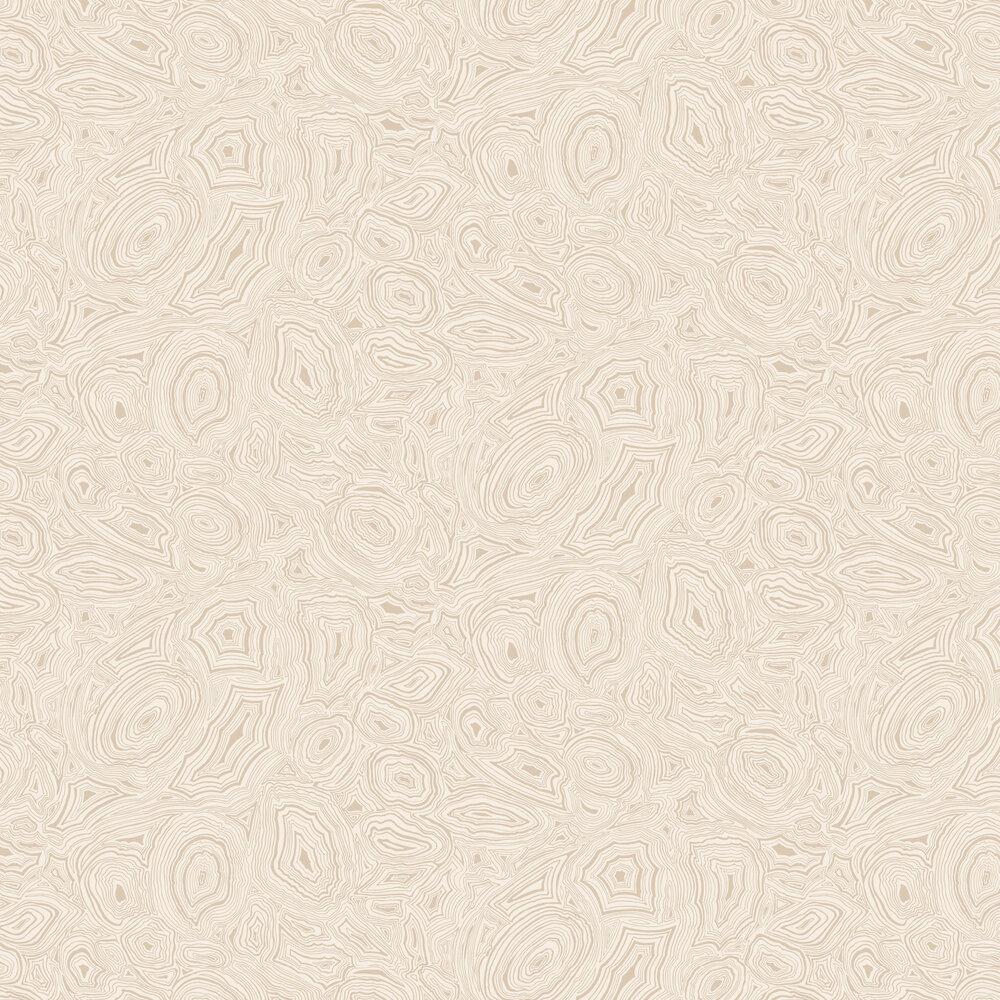 Malachite Wallpaper - Cream - by Cole & Son