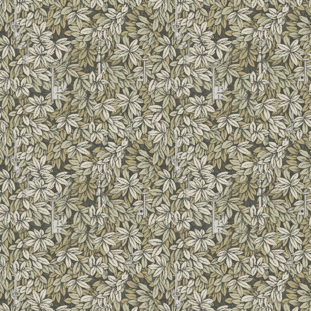 Cole & Son Chiavi Segrete Earthy-green Wallpaper - Product code: 114/9017