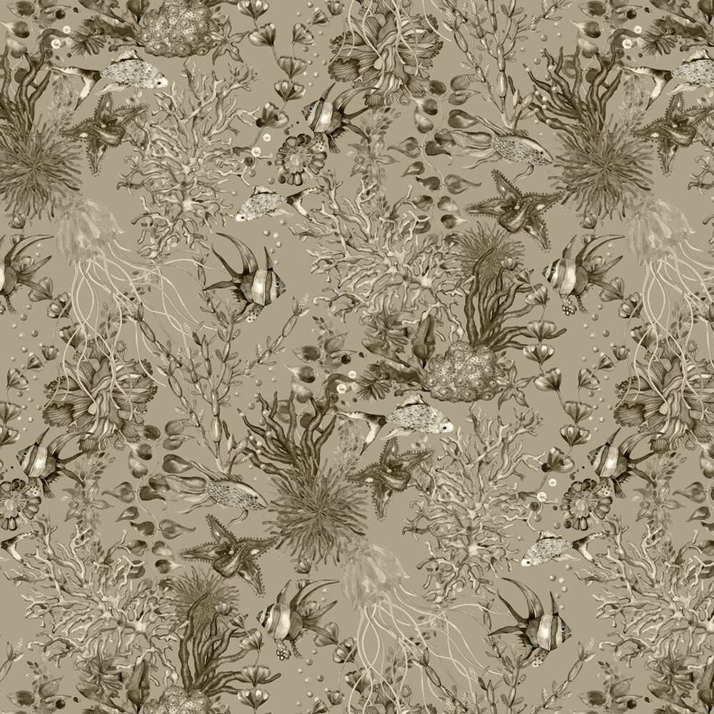 Miramar Wallpaper - Sepia - by Engblad & Co