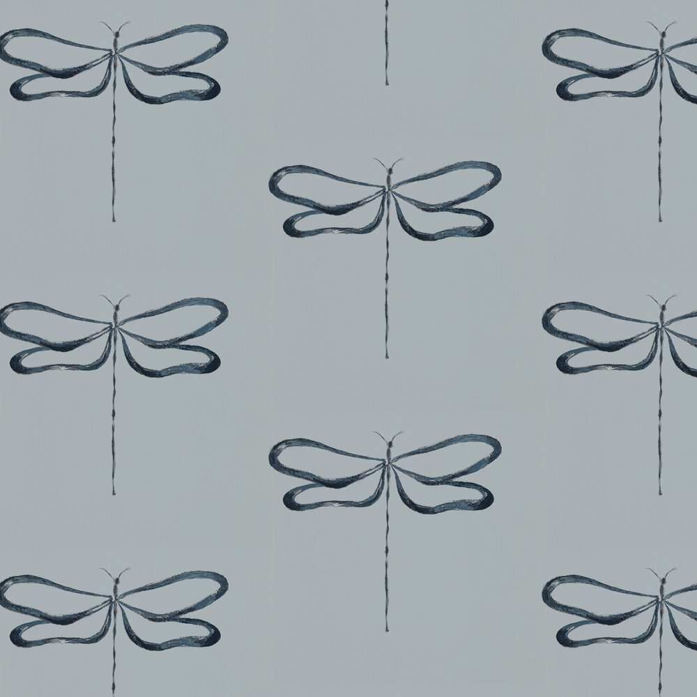Scion Dragonfly Liquorice Wallpaper - Product code: 111932