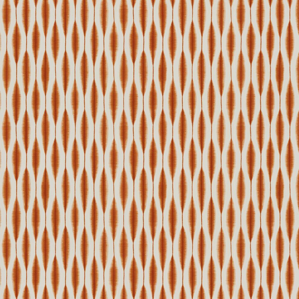 Kasuri Wallpaper - Chilli - by Scion