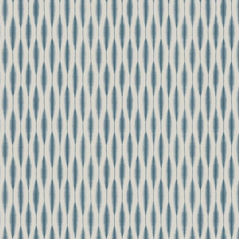 Kasuri Wallpaper - Slate - by Scion
