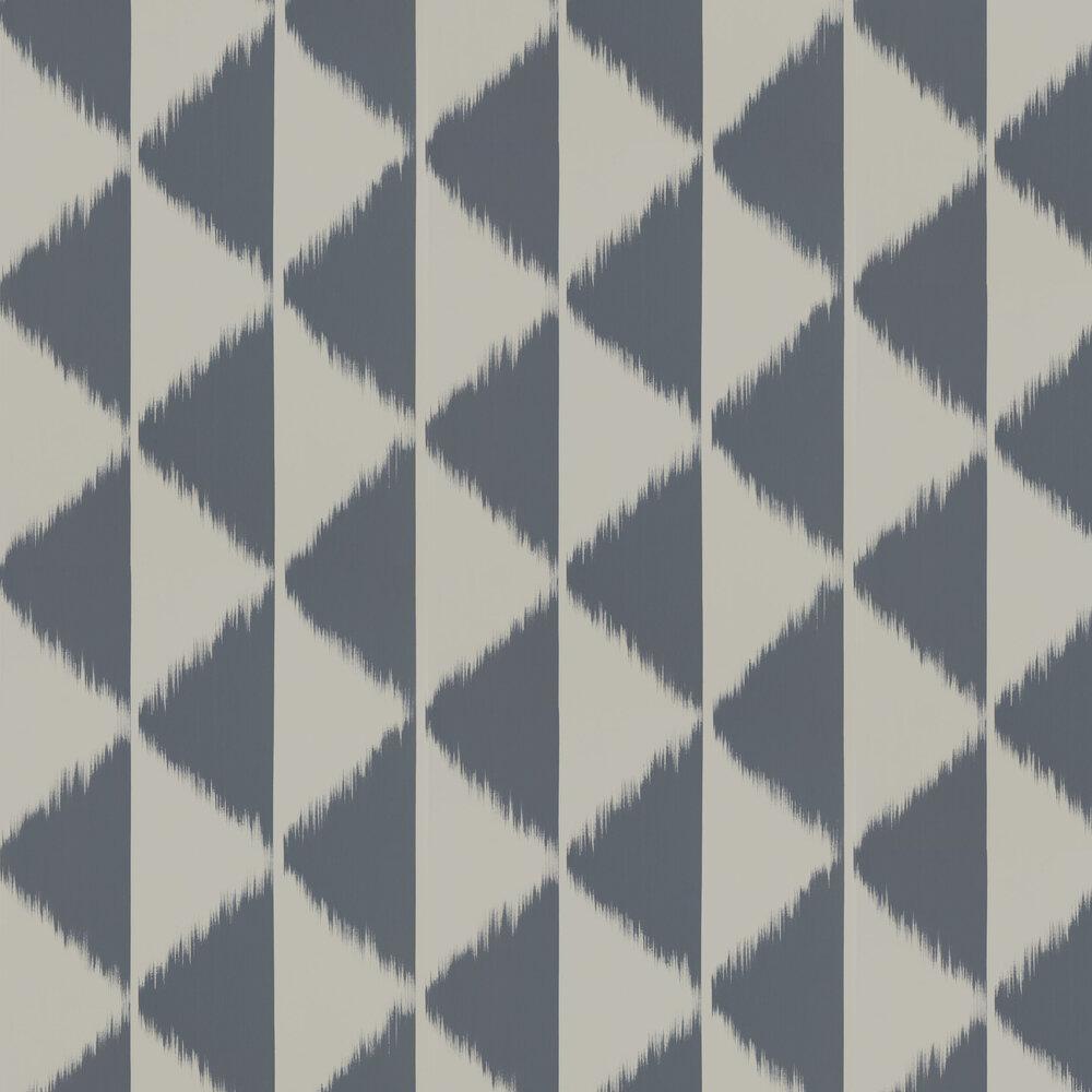 Habutai Wallpaper - Liquorice - by Scion