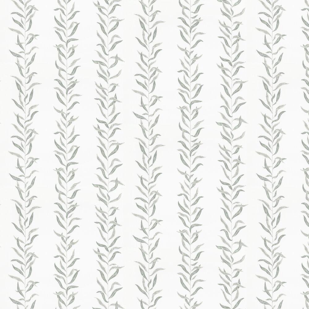 Pil Wallpaper - Grey / Green - by Sandberg