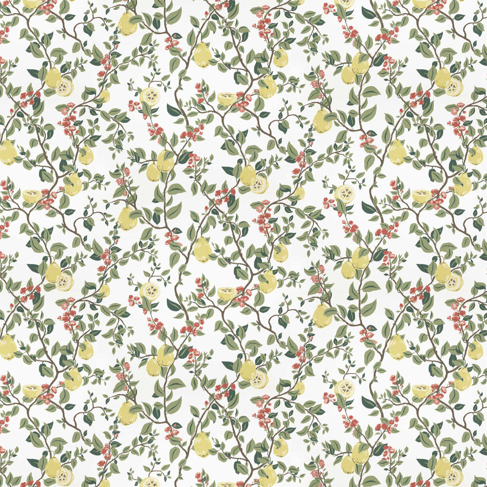 Sandberg Kvitten White Wallpaper - Product code: 432-01