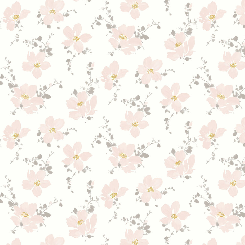Casadeco Sabatini Pink Wallpaper - Product code: 82324127