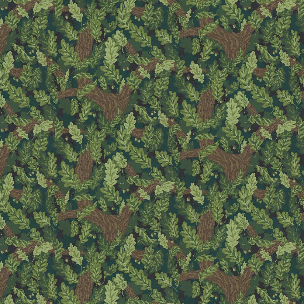 Ek Wallpaper - Green - by Sandberg