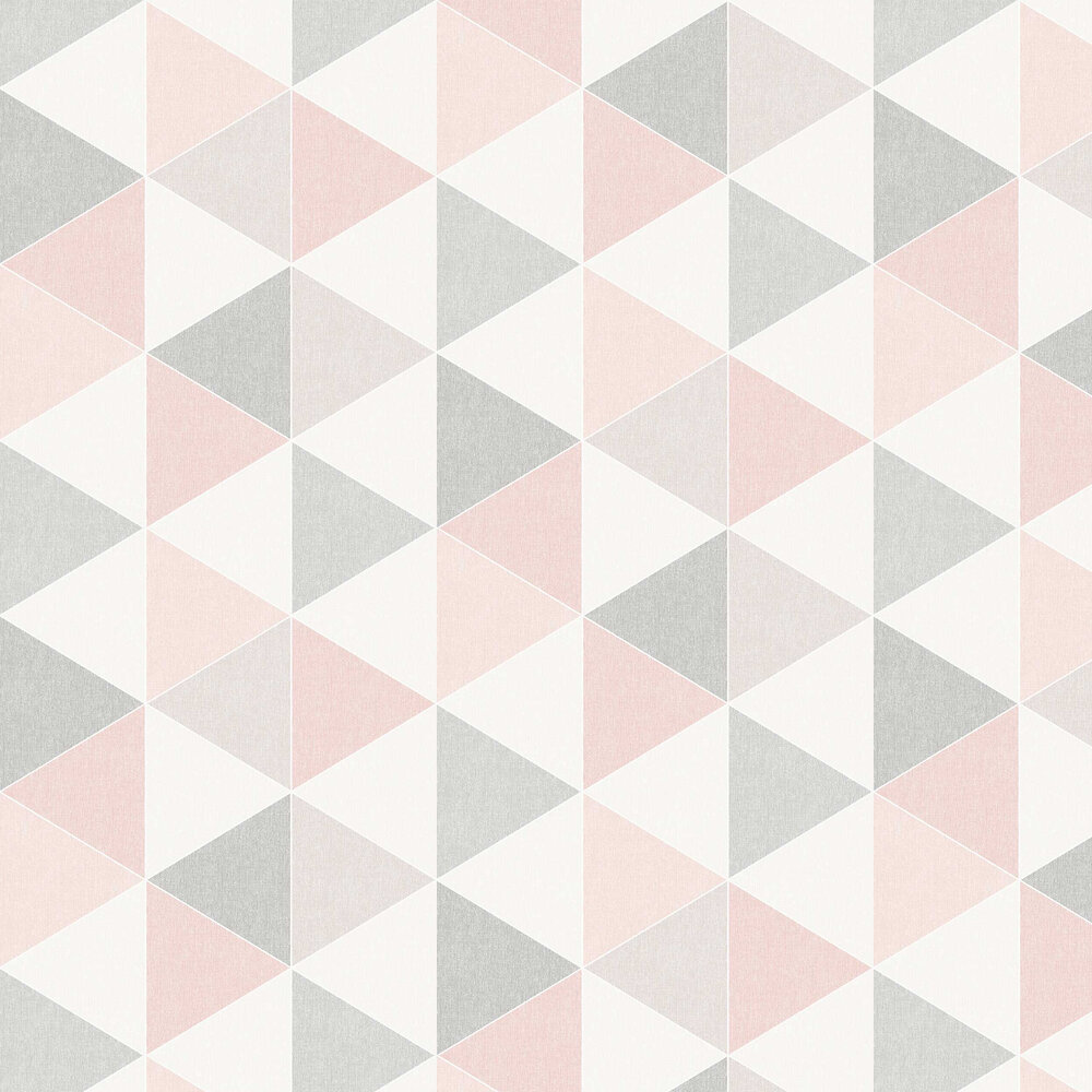 Arthouse Scandi Triangle Pink Wallpaper - Product code: 908204