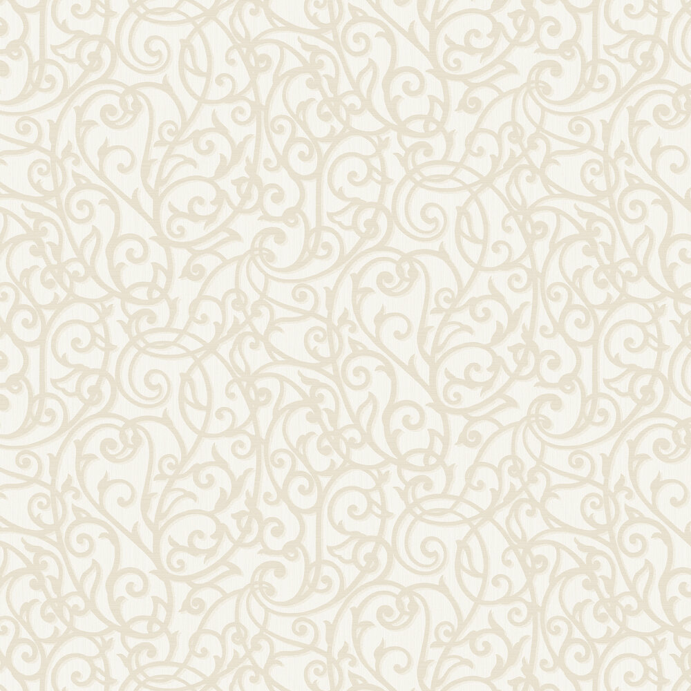 Alyssia Wallpaper - Cream - by Albany