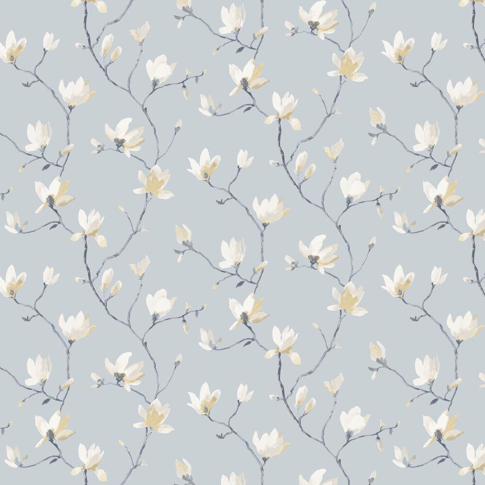 Suzhou Wallpaper - Soft Blue - by Casadeco