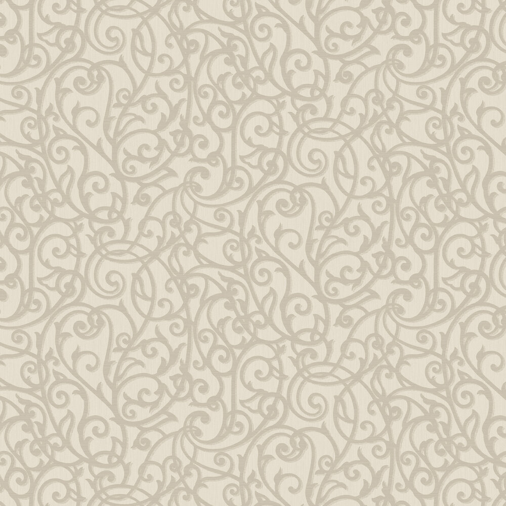 Alyssia Wallpaper - Taupe - by Albany