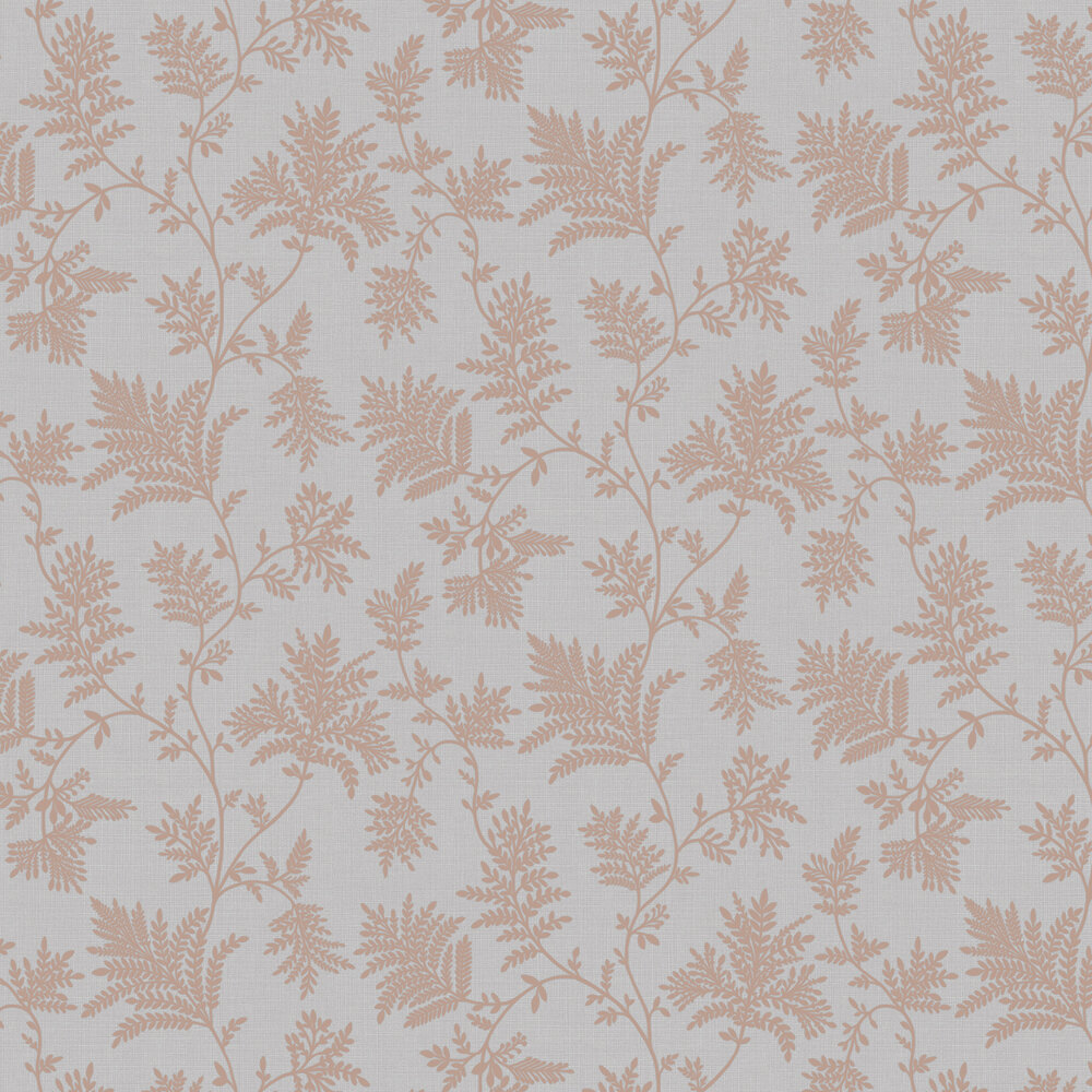 Elsie Wallpaper - Grey / Rose Gold - by Albany