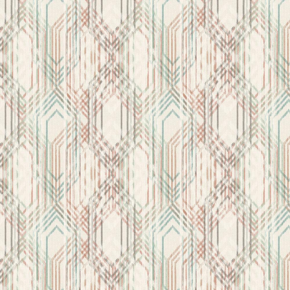 Elizabeth Ockford Topaz Aqua Wallpaper - Product code: WP0140305