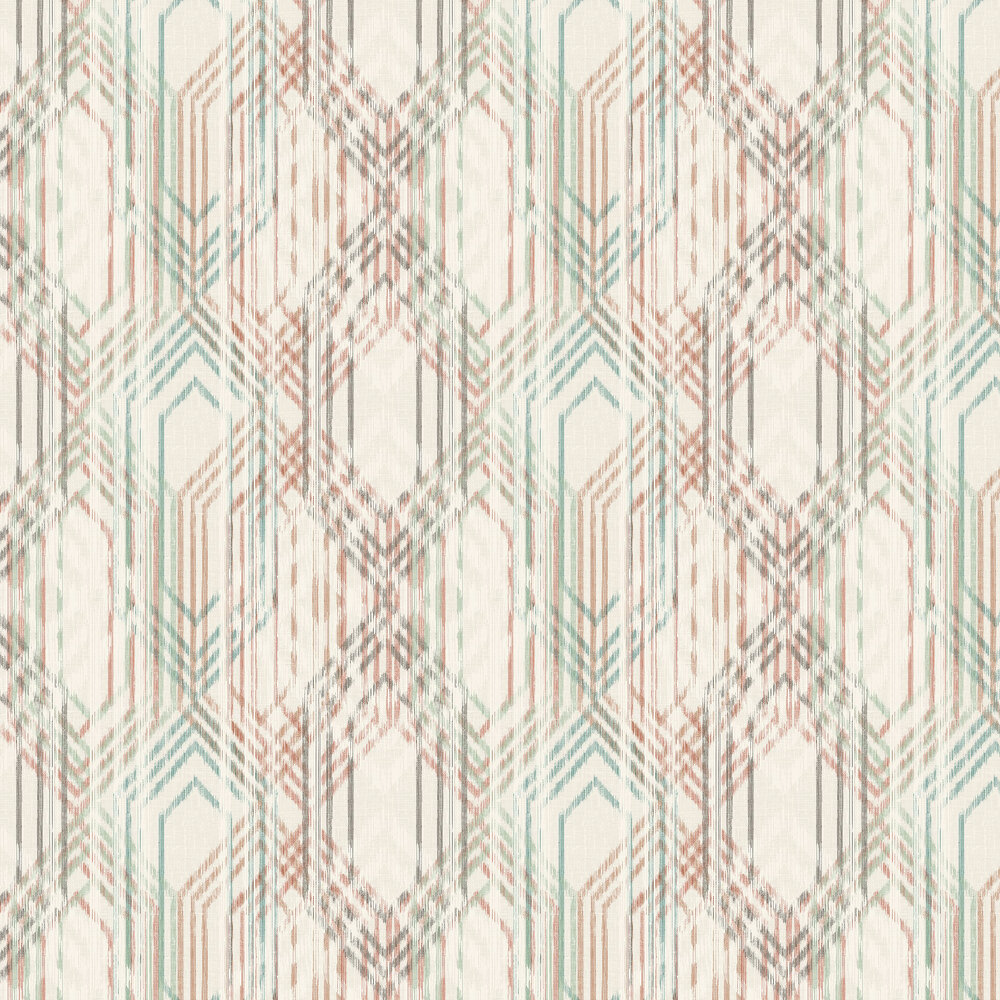The Paper Partnership Topaz Aqua Wallpaper - Product code: WP0140305
