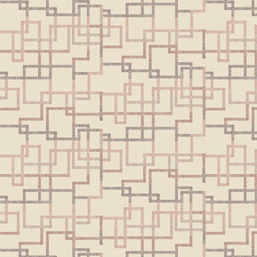 Hatton Wallpaper - Ruby - by Elizabeth Ockford