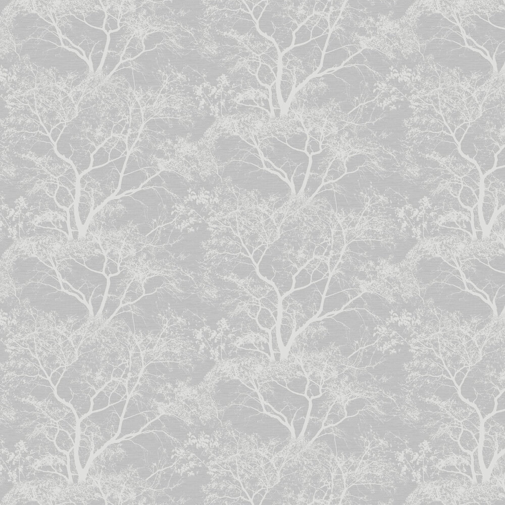 Whispering Trees Wallpaper - Grey - by Albany