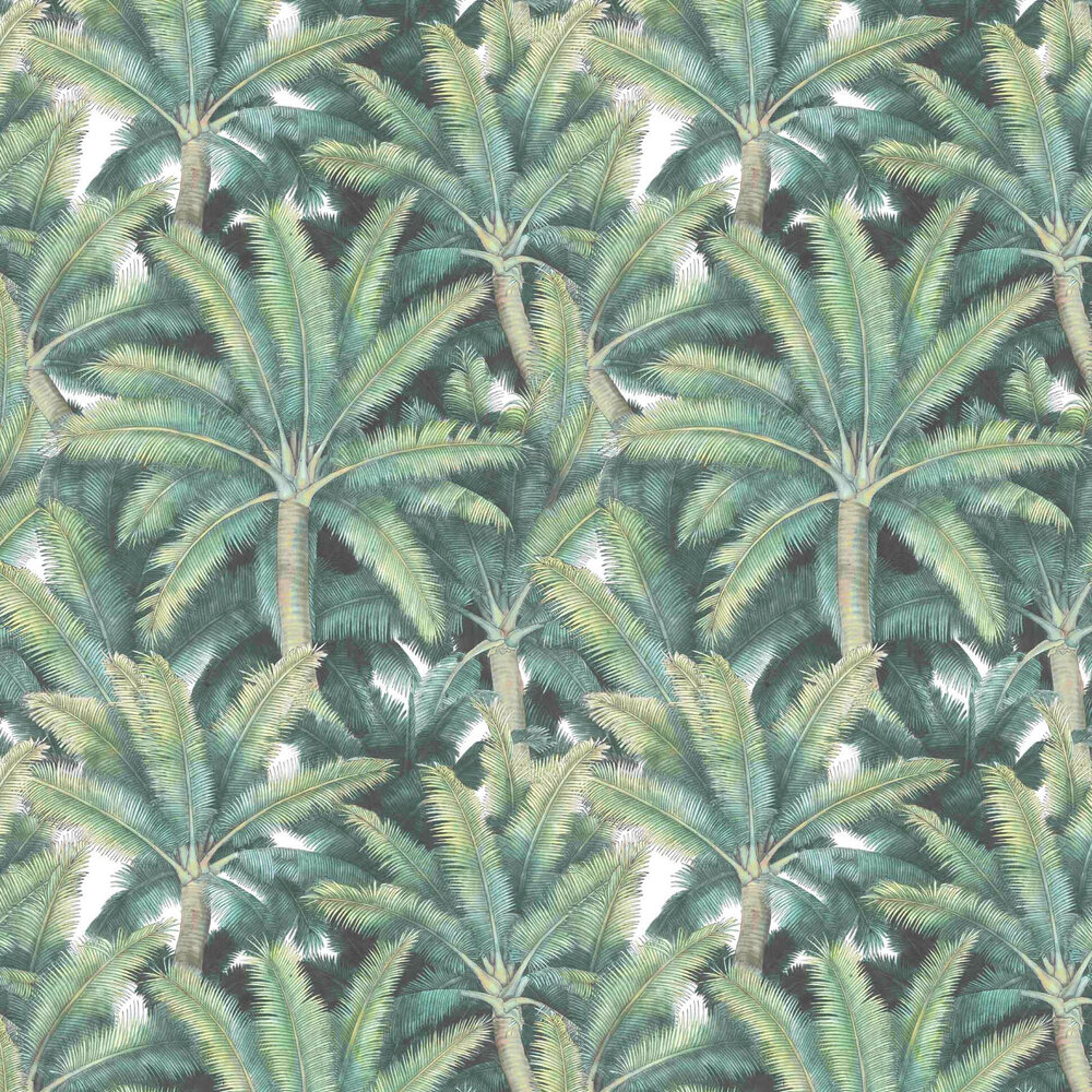 Vilber Palms Green Wallpaper - Product code: PALMS 2276 W-02