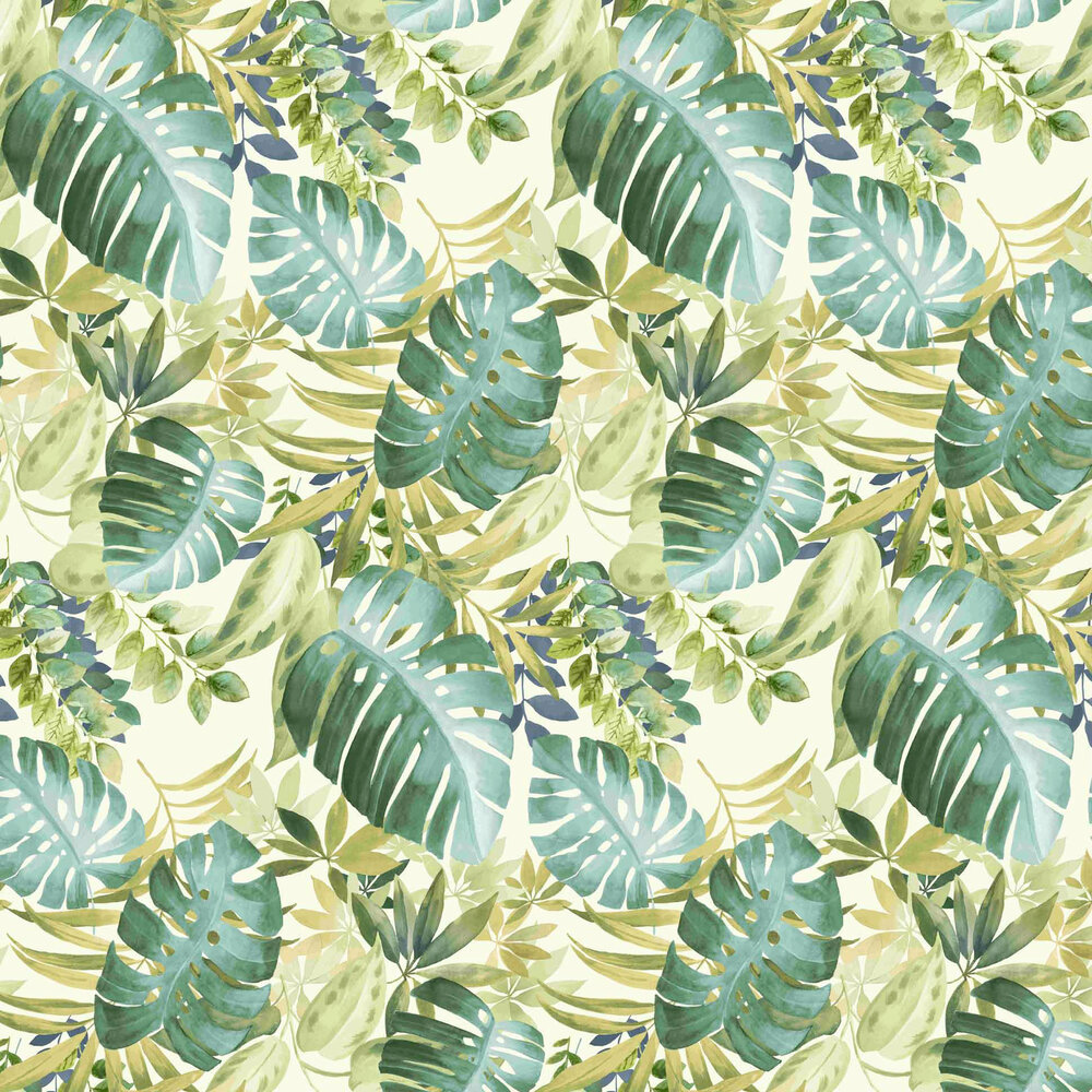 Tropical Wallpaper - Green - by Vilber