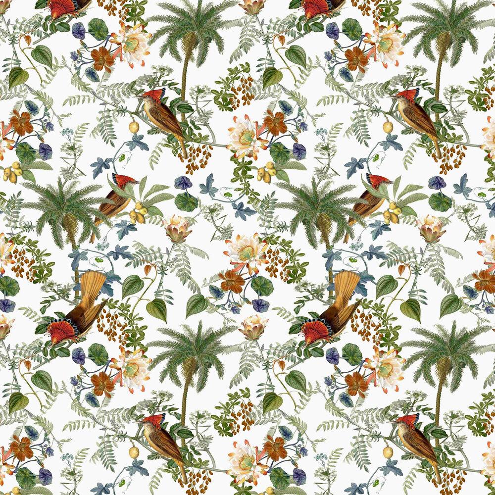 Birds Wallpaper - Multicoloured - by Vilber