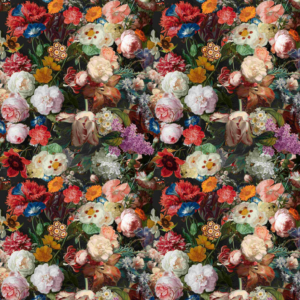 Vilber Lea Black / Multicoloured Wallpaper - Product code: LEA 2610 W-05