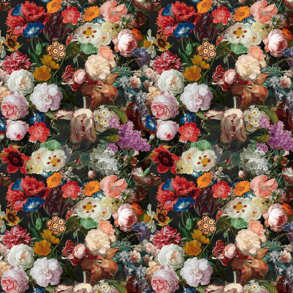 Lea Wallpaper - Black / Multicoloured - by Vilber