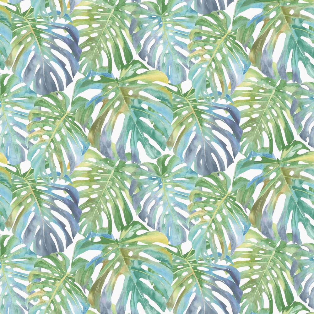 Saphira Wallpaper - Blue / Green - by Vilber