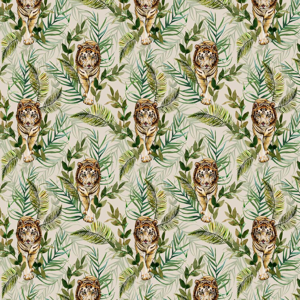 Graduate Collection Tiger Tiger Cream Wallpaper - Product code: EG1TIGWALC