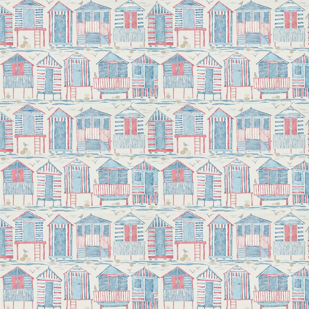 Sanderson Beach Huts Nautical Wallpaper - Product code: 216559