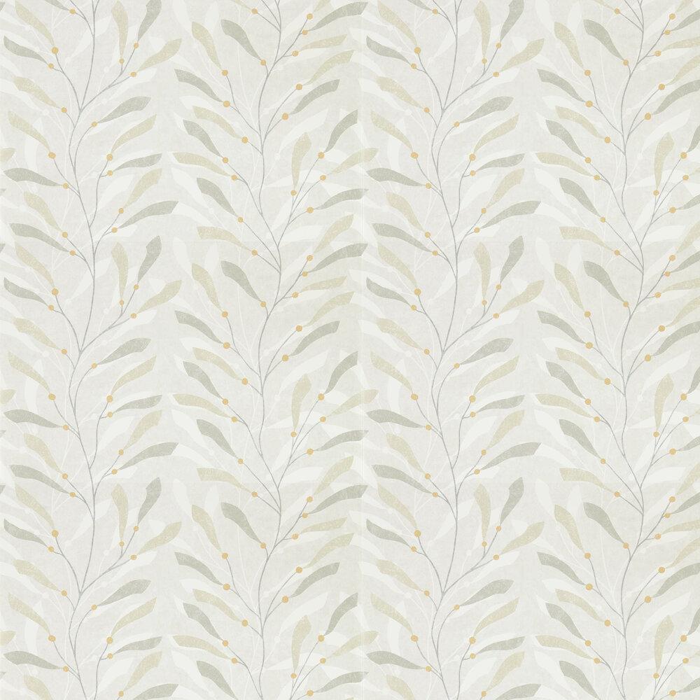 Sea Kelp Wallpaper - Driftwood / Slate - by Sanderson