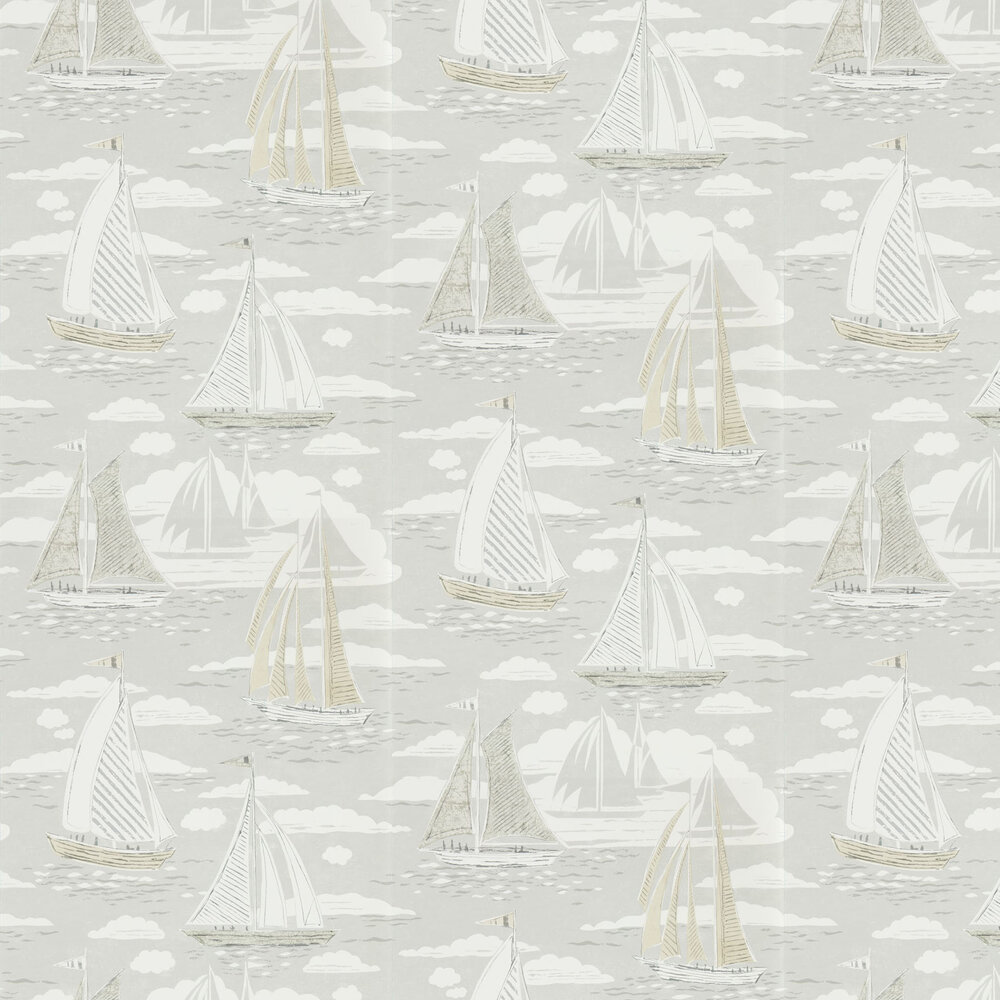 Sailor Wallpaper - Gull - by Sanderson