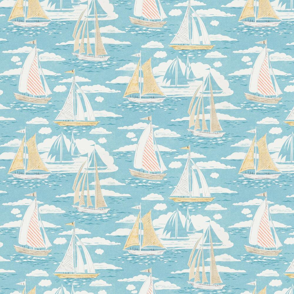 Sailor Wallpaper - Pacific - by Sanderson