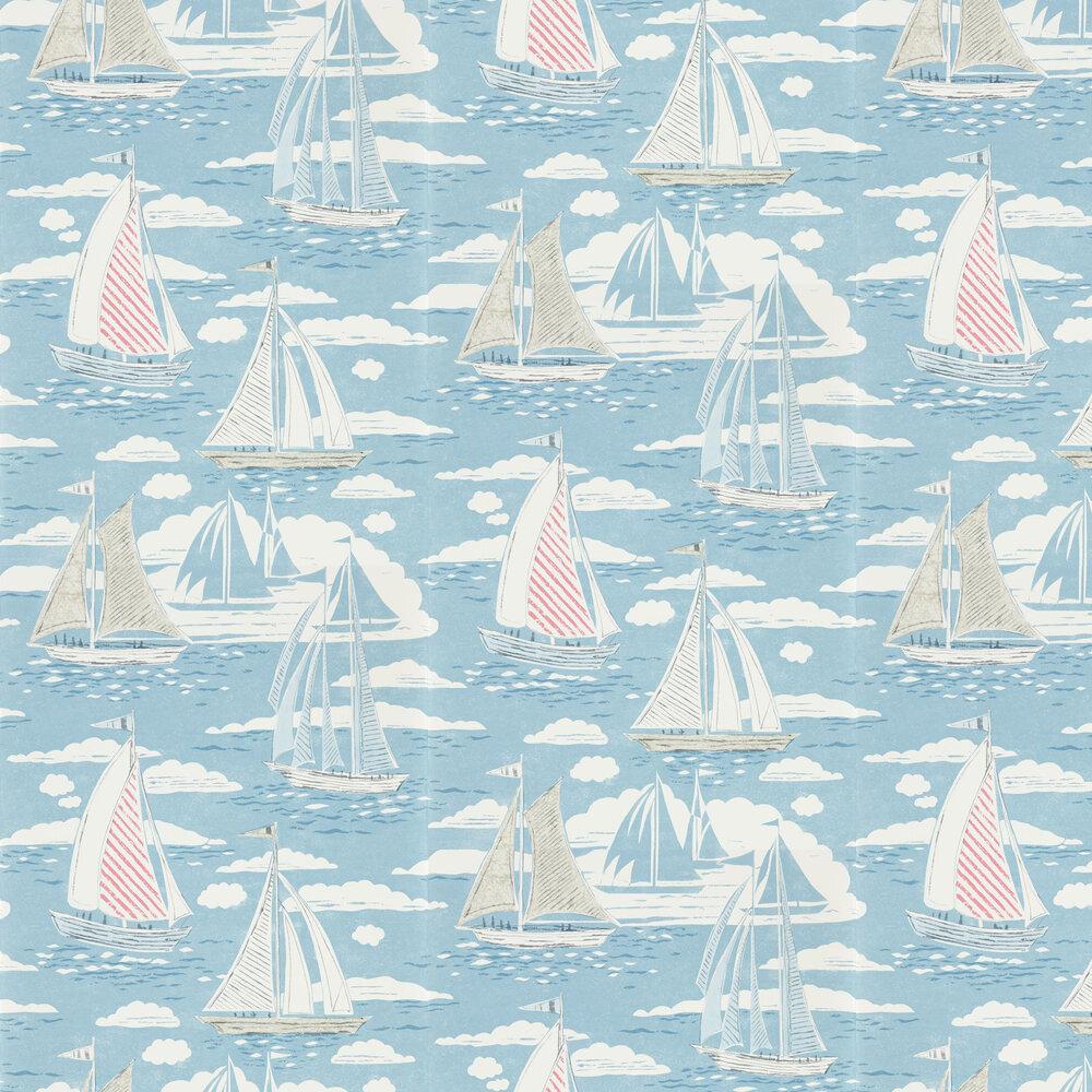 Sailor Wallpaper - Nautical - by Sanderson
