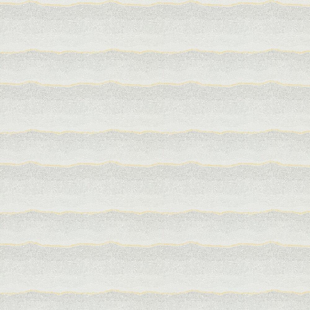 Ripley Wallpaper - Ochre / Slate - by Sanderson