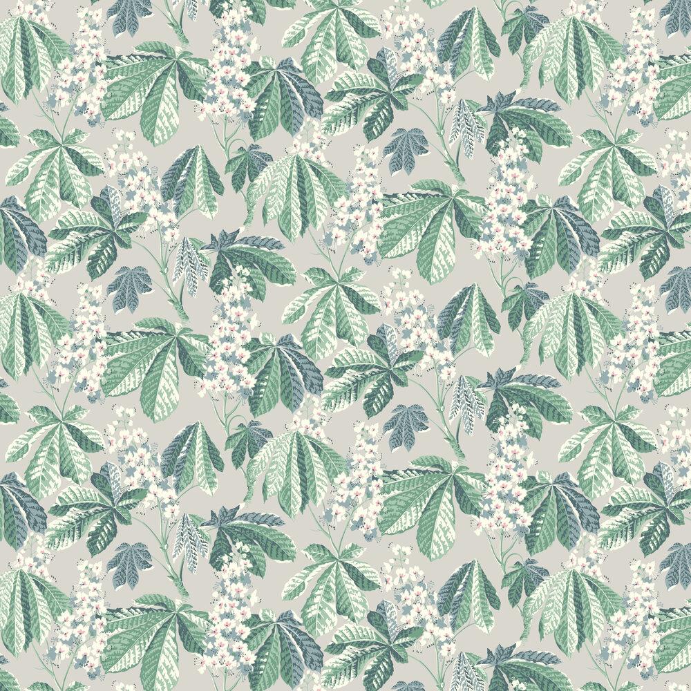 Chestnut Blossom Wallpaper - Grey - by Boråstapeter