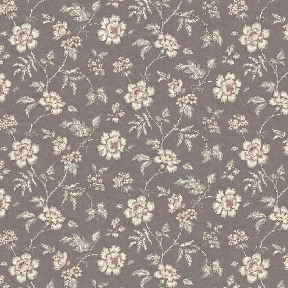 Boråstapeter Camille Purple Wallpaper - Product code: 7207