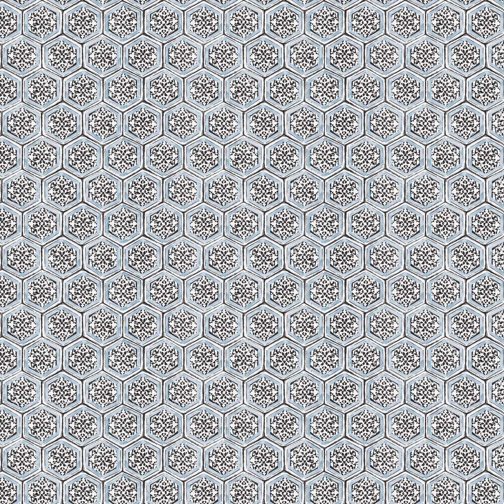 Coordonne Joyce Light Blue Wallpaper - Product code: 7000006