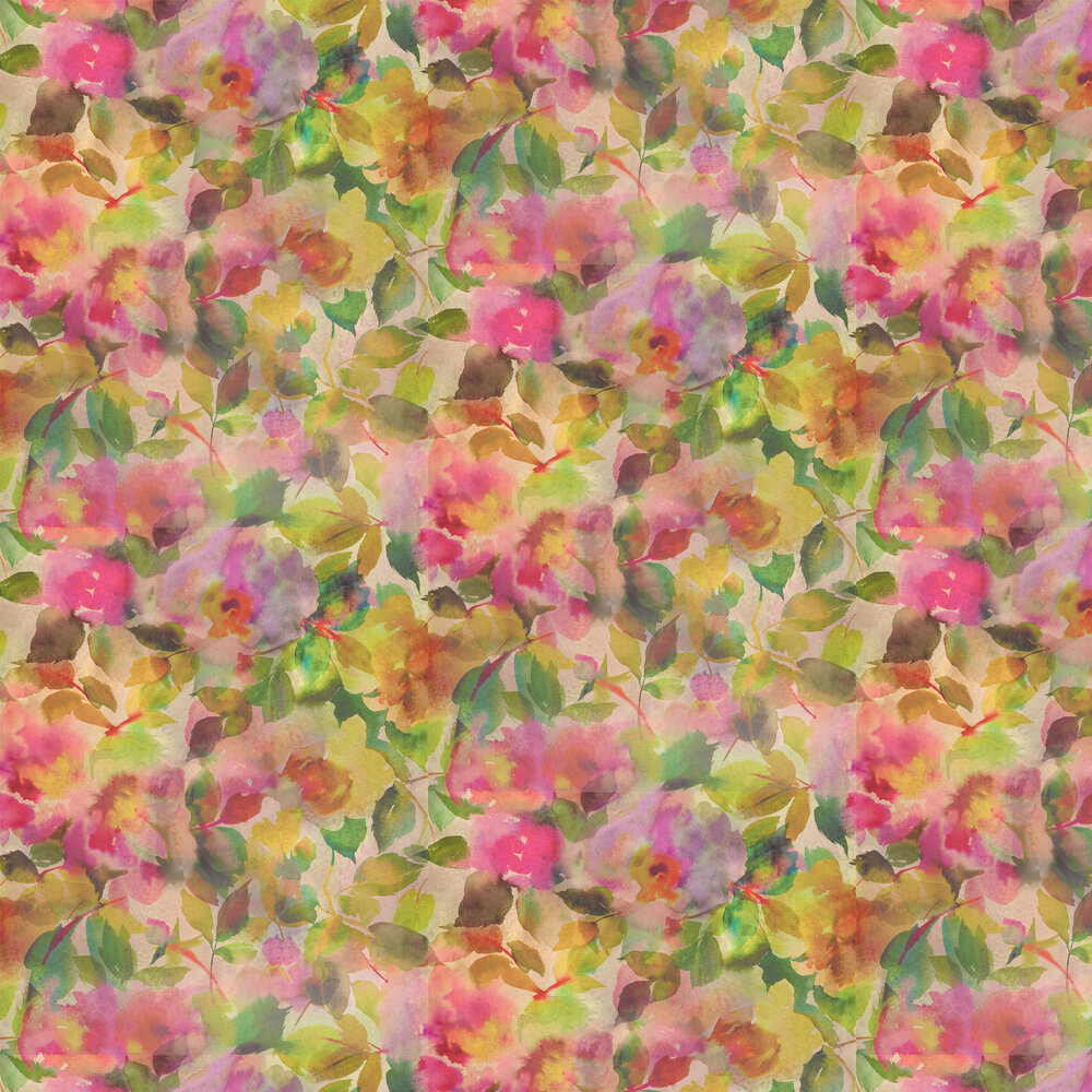 Designers Guild Surimono Berry Wallpaper - Product code: PDG1062/01