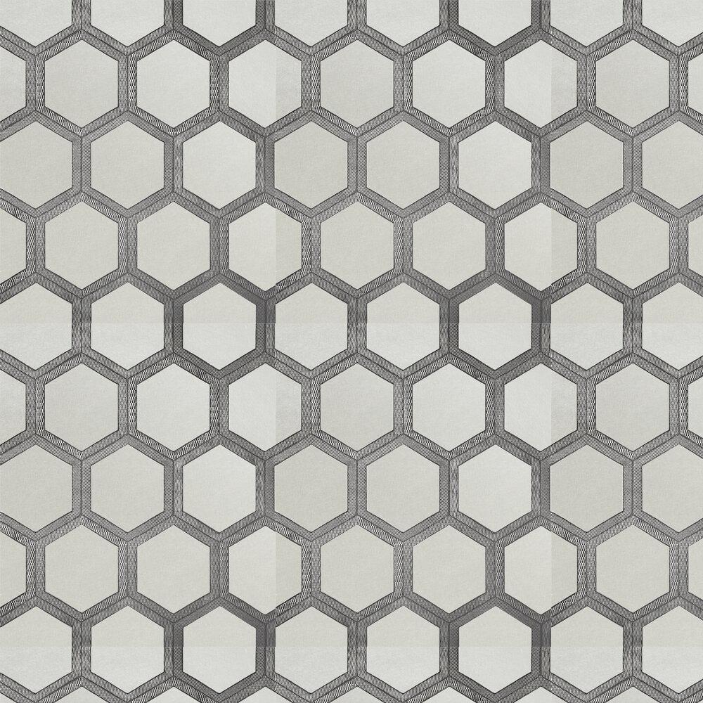 Zardozi Wallpaper - Platinum - by Designers Guild