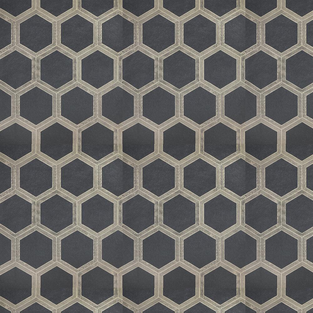 Zardozi Wallpaper - Charcoal - by Designers Guild