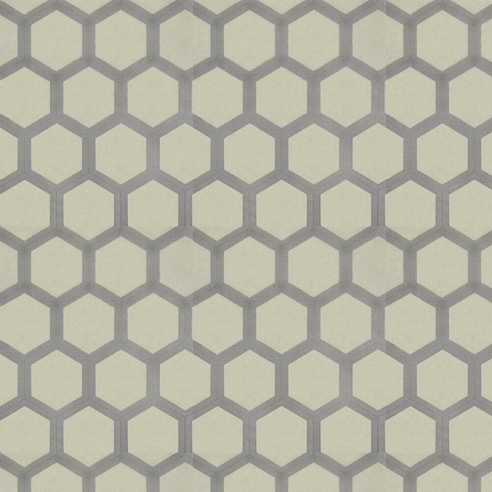 Zardozi Wallpaper - Oyster - by Designers Guild