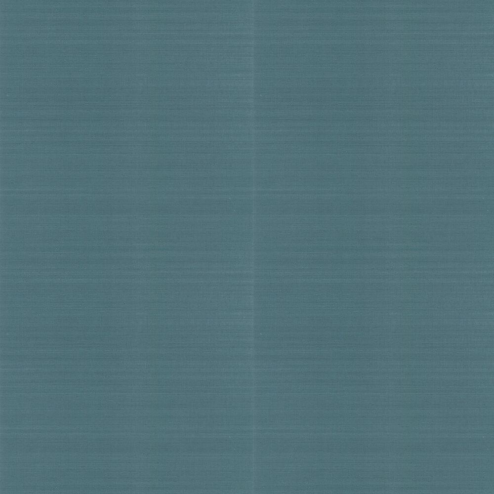 Klint Wallpaper - Teal - by Jane Churchill