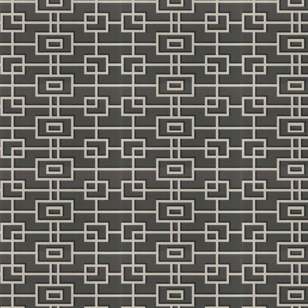 Rheinsberg Wallpaper - Noir - by Designers Guild